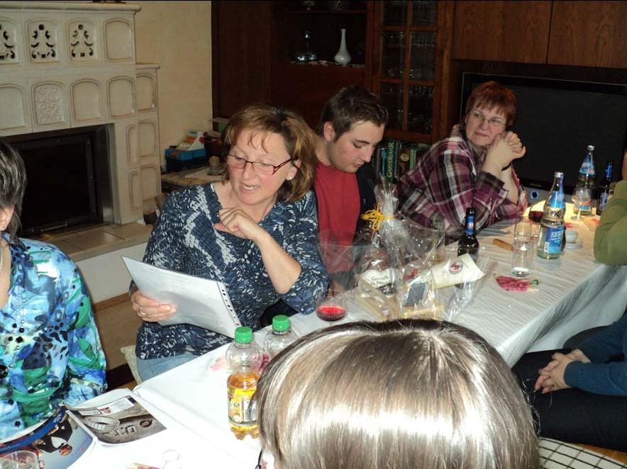 Christa feierte den 70. Geburtstag